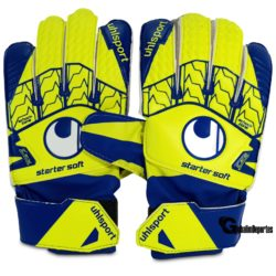 Uhlsport Starter Soft Youth Goalkeepers Gloves Size 7