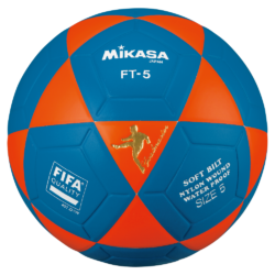 Mikasa FT5 Goal Master Soccer Ball Size 5 Official FootVolley Ball Orange Blue