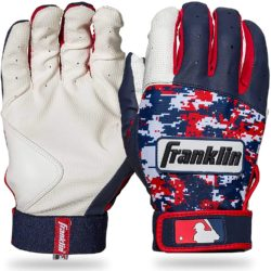 Franklin Sports Youth MLB Digi Camo Batting Gloves Size Medium