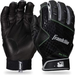 Franklin Sports 2nd-Skinz Youth Batting Gloves