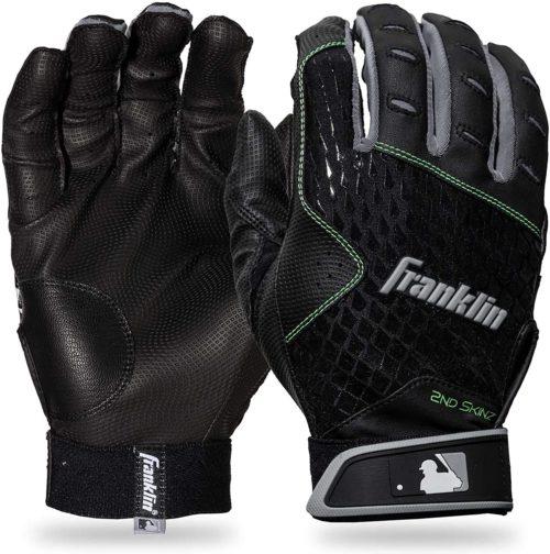 Franklin Sports 2nd-Skinz Youth Batting Gloves