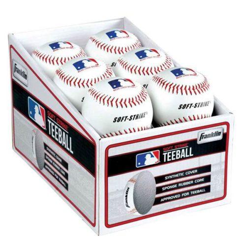 Franklin MLB Soft-Strike PDQ T-Ball 12 Pack
