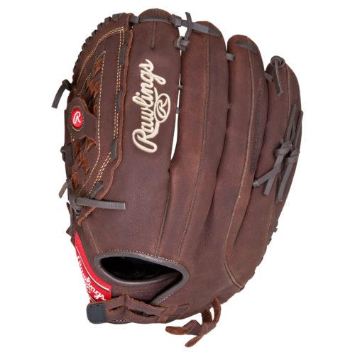 Rawlings Baseball Glove 14 Inches Softball Pull Strap/Basket LHT