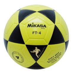 Mikasa FT4 Goal Master Soccer Ball Size 4 Black-Yellow