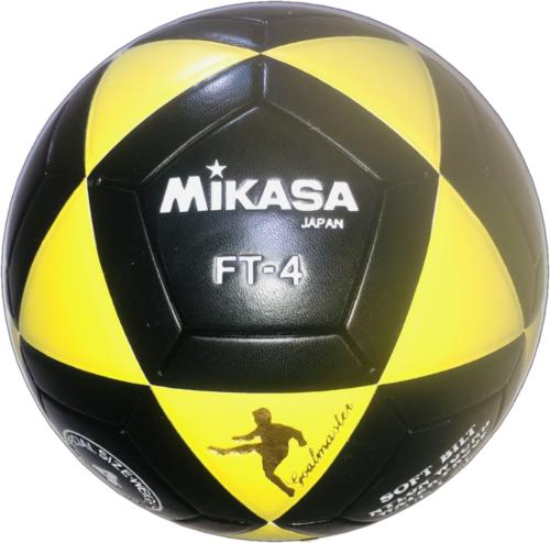 Mikasa FT4 Goal Master Soccer Ball Size 4 Yellow Black