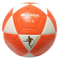 Mikasa FT5 Goal Master Soccer Ball Size 5 Official FootVolley Ball White Orange