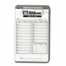 Wilson 3X Line Up Cards 30 PK Boxed