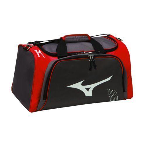 Mizuno Bolt Duffle Bag - Grey Red