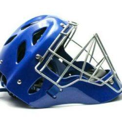Tamanaco Baseball Softball Adult Catcher´s Mask Helmet Royal