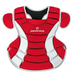 Tamanaco Baseball Softball Chest Protector Adult 16 Inches Red
