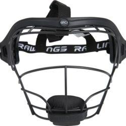 Rawlings Softball Junior Fielders Protective Mask Black