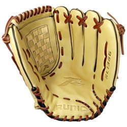 Runic RL1366 Genuine Leather Softball Glove Adult 13 Inches RHT