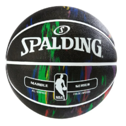 Spalding Marble Black Basketball RBR Size 29.5""