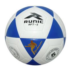 Runic RFT5 Soccer Ball Goal Master size 5 Blue White