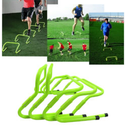 Runic Adjustable Speed Training Agility Hurdles - Set 5 pcs
