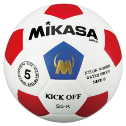 MIKASA S5-K Kickball - Soccer Ball Size 5 Blue Red