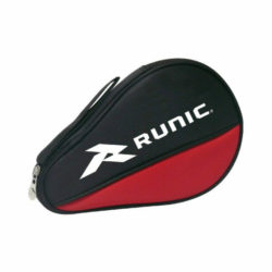 Runic Table Tennis Bat Cover Ping Pong Bat Case Red Black