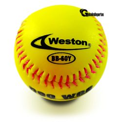 Weston Pee Wee Baseball Little League Sponge 9 Inches Yellow 1 Dz