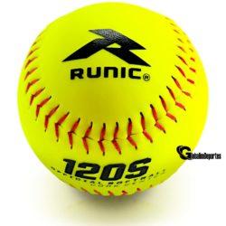 Runic 120S Softball 12 Inches Yellow 1 Dozen