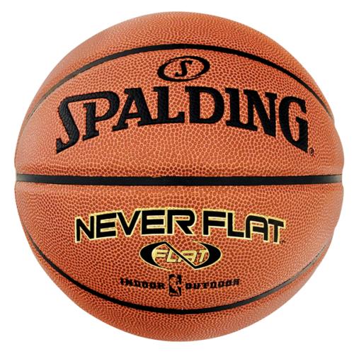"Spalding Neverflat Indoor/Outdoor Basketball Size 29.5"""