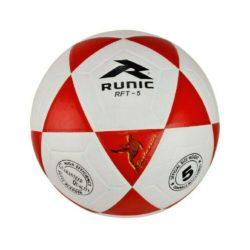 Runic RFT5 Soccer Ball Goal Master Size 5 Red White