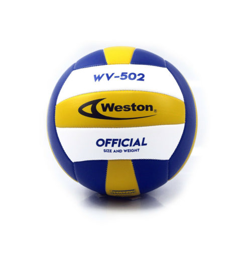 Weston WV502 Soft Touch Recreational Volleyball Official Size Tricolor
