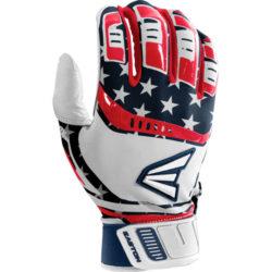 Easton Adult Batting Gloves Walk-Off Stars Stripes Size Small