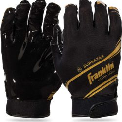 Franklin Football Supratak Receiver Gloves Adult Grip Premium Size Medium