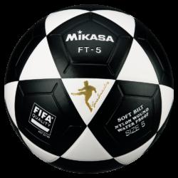 Mikasa FT5 Goal Master Soccer Ball Size 5 Official FootVolley Ball White Black