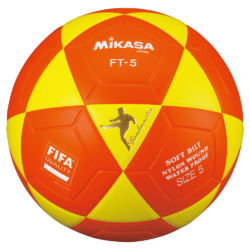 Mikasa FT5 Goal Master Soccer Ball Size 5 Official FootVolley Ball Yellow Orange