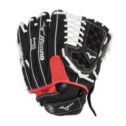 Mizuno Prospect Paraflex Youth Baseball Glove 11.5 Inches RHT Black-Red