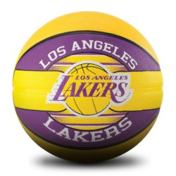 "Spalding Team LA Lakers Basketball Rubber size 29.5"""