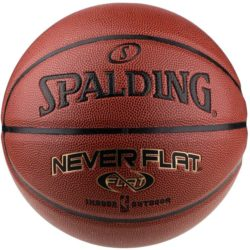 Spalding Neverflat Silver Indoor/Outdoor Basketball Size 29.5 Inches