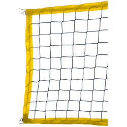 Weston Yellow Beach Volleybal Net 1.7MM 4MM nylon cable