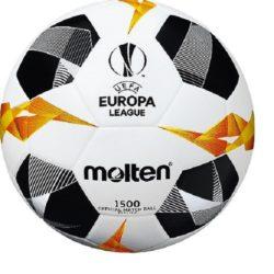 Molten UEFA Europa League Soccer Ball 1500 Series Size 4 Grey