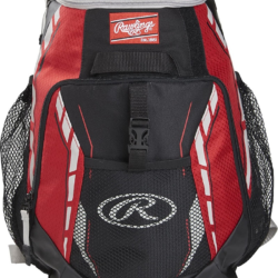 Rawlings Players Team Backpack Youth Red